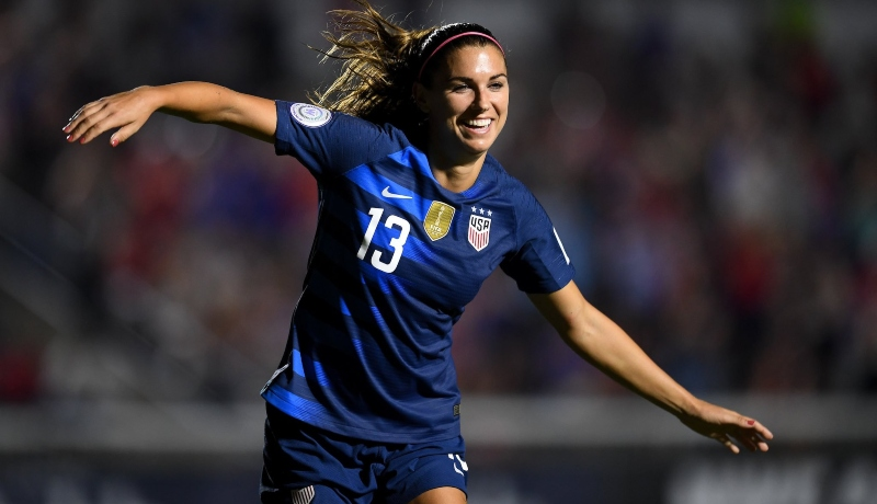 alex morgan cristiano